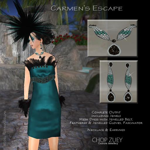 CarmenTealDressAd