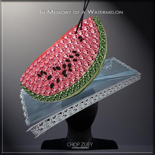 Chop Zuey Watermelon Fascinator