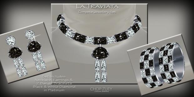 TraviataBlkJewelSet