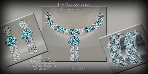 TraviataBluJewelSet