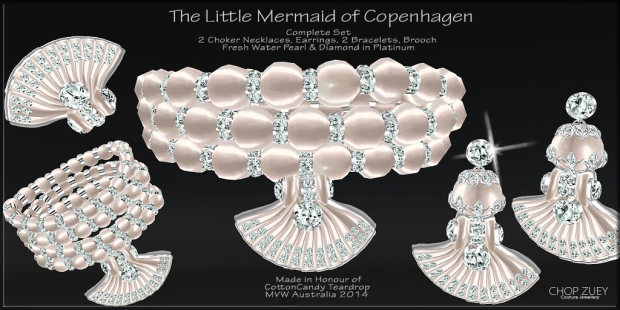LittleMermaidof CopenhagenSet