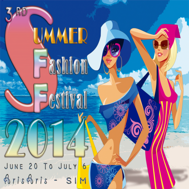 SUMMER FASHION 2014 - POSTER
