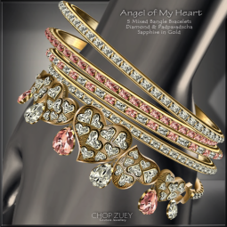 Angel of My Heart Bracelets