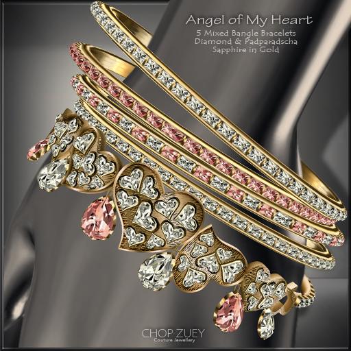 Angel of My Heart Bracelets - PadSapp