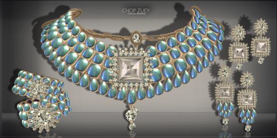 Chandrani Set Ad- Blu-Diamond