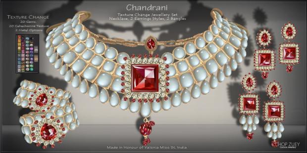 Chandrani Texture Change Set Set