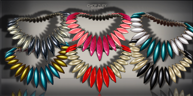 The Girl from Mekong Colours Necklace