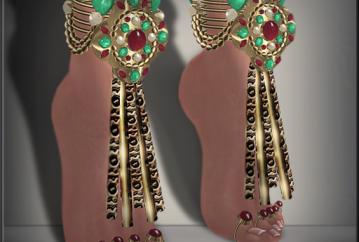Kundalini Anklets & Toe Rings