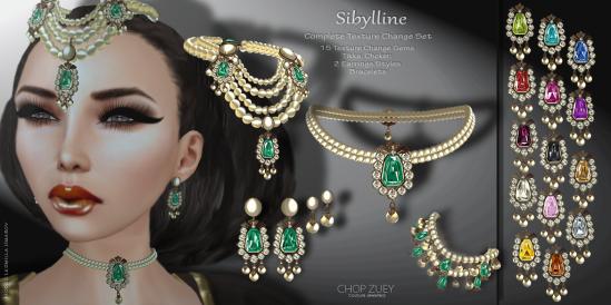 Sibylline Mega Texture Change Set