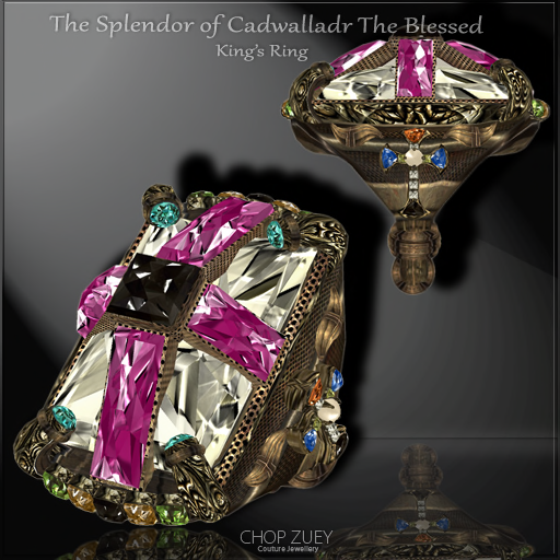 The Splendor of Cadwalladr The Blessed King's Ring