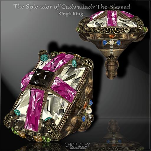 The Splendor of Cadwalladr The Blessed King's Ring