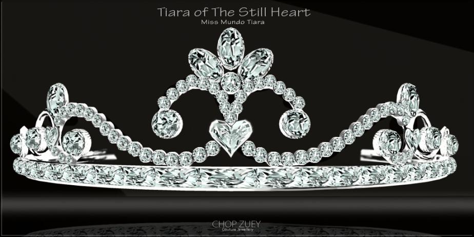 Tiara of The Still Heart - Miss Mundo