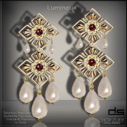 Lumineux Earrings Ad