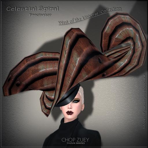 Celestial Spiral Fascinator