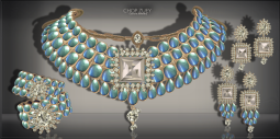 Chandrani Set Ad- Blu-Diamond