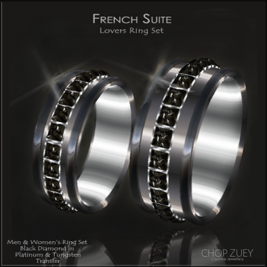 French Suite Set Blk