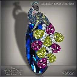 Laughter&Resurrection-Peacock Blu Ring