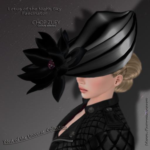 Lotus of the Night Sky Facinator