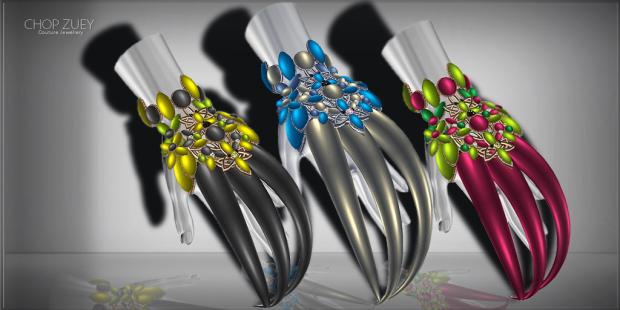 Mblieu, Mblieu, Mblieu Texture Change Claw Bracelet Ad