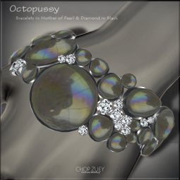 Octopussy Blk Bracelets