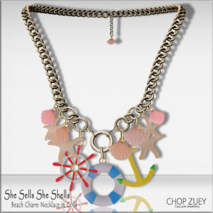 She Sells She Shells Necklace