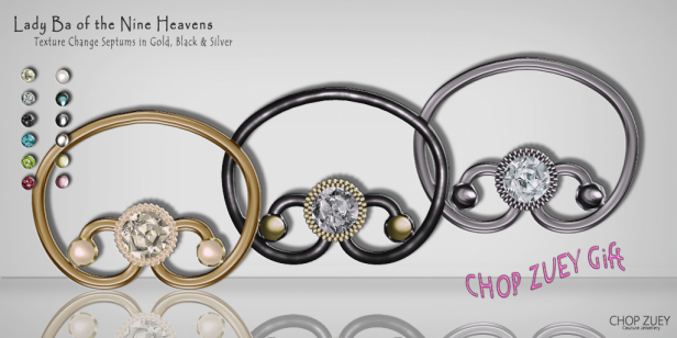 La Ba of the Nine Heavens Septum -Texture Change