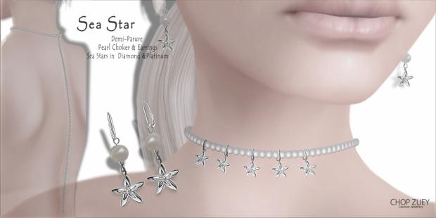 Sea Star Demi-Parure Pearl & Diamond Set 68